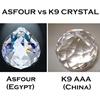 "Picture of 19"" Sfera Modern Crystal Flush Mount Round Chandelier Polished Chrome  / Brushed Nickel 10 Lights"