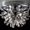 "Picture of 14"" Radiante Modern Crystal Flush Mount Round Chandelier Polished Chrome 15 Lights"
