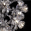 "Picture of 65"" Petali Modern Crystal Floor Lamp Polished Chrome 5 Lights"