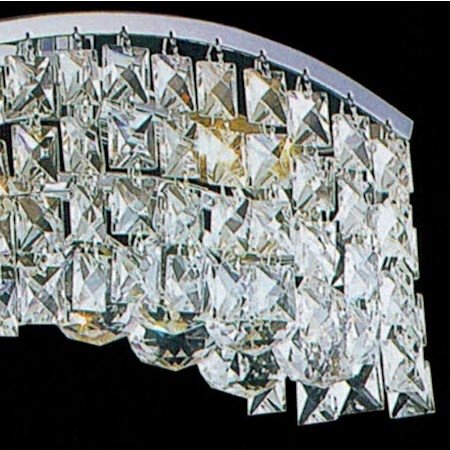 Brizzo lighting stores 36 gesto modern rectangular wave wall picture of 36 gesto modern rectangular wave wall sconce vanity light polished chrome clear aloadofball Gallery
