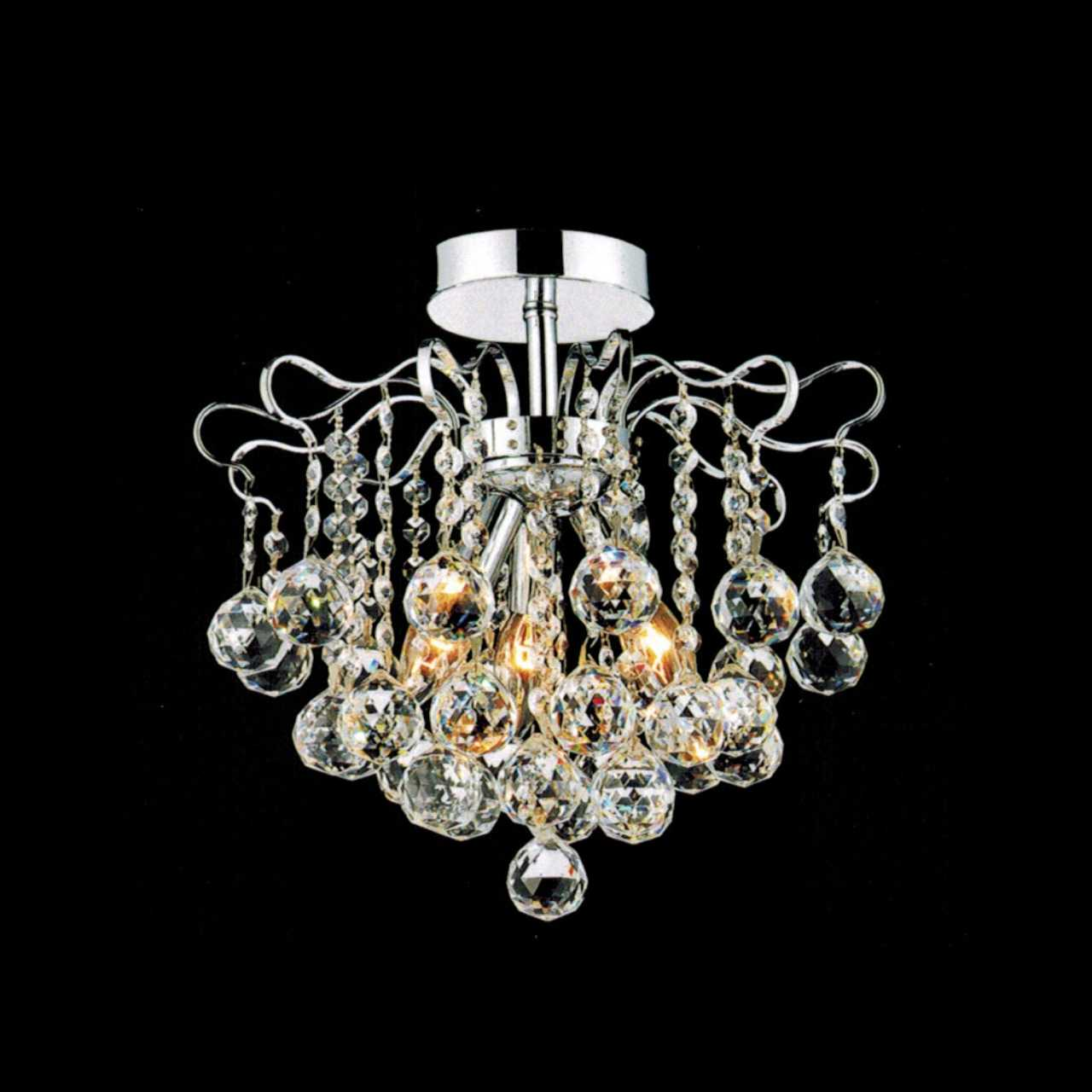 Brizzo lighting stores 14 formosa crystal semi flush mount round picture of 14 formosa crystal semi flush mount round chandelier chrome gold 3 arubaitofo Choice Image