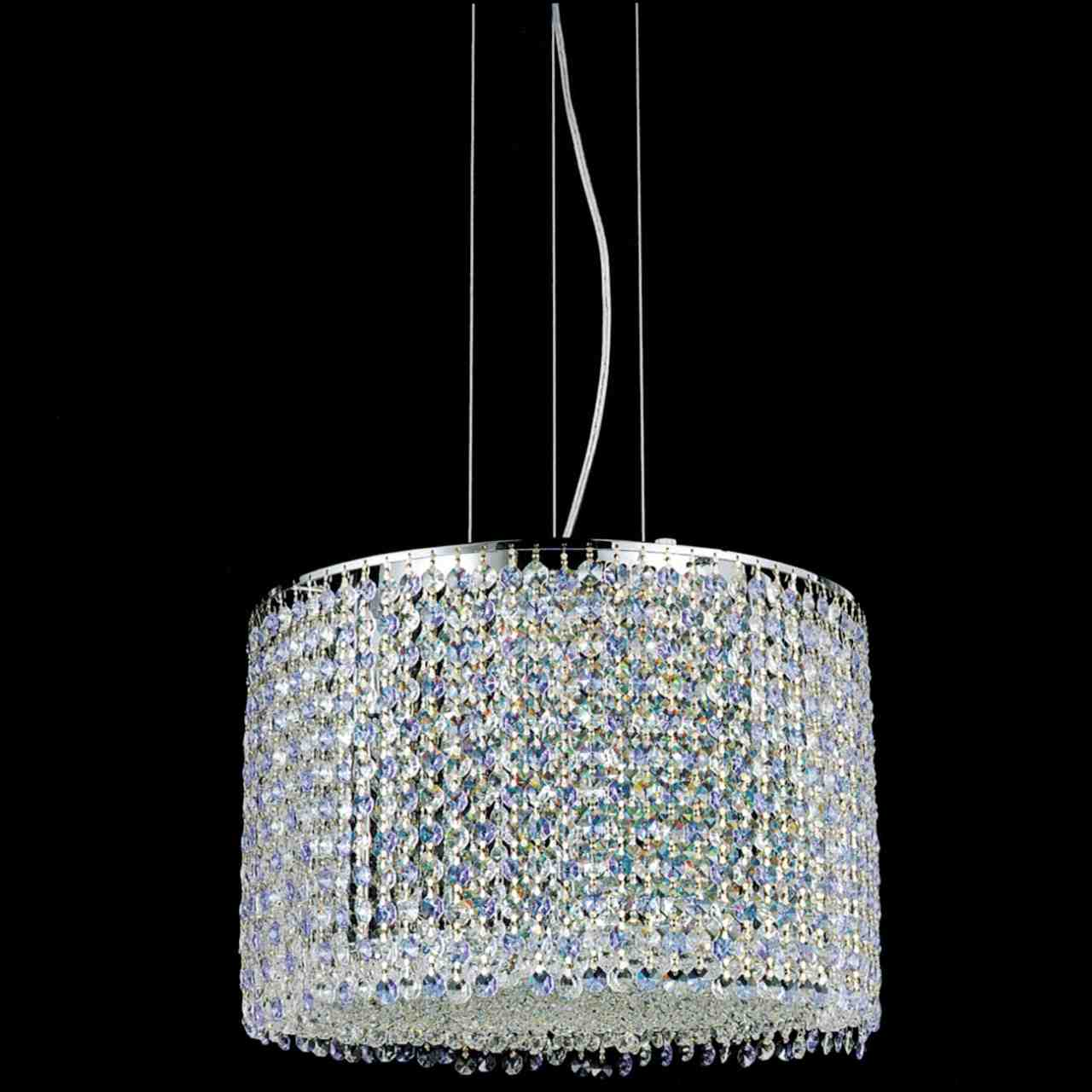 Brizzo lighting stores 16 rainbow modern round crystal chandelier picture of 16 rainbow modern round crystal chandelier polished chrome 12 lights aloadofball Image collections