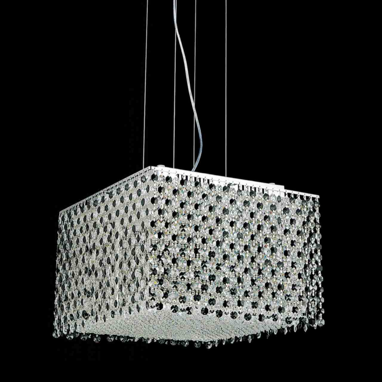 Brizzo lighting stores 16 rainbow modern square crystal chandelier picture of 16 rainbow modern square crystal chandelier polished chrome 12 lights aloadofball Choice Image