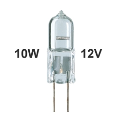 Picture of 10W Halogen G4 Bi-Pin Bulb 12V Low Voltage