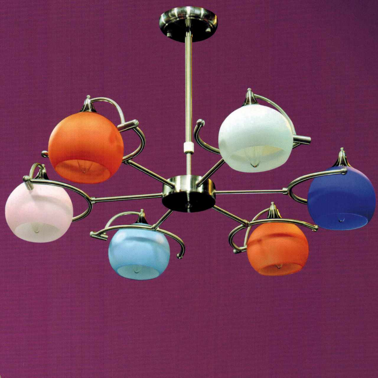 Brizzo lighting stores 28 vibrante modern round kids chandelier picture of 28 vibrante modern round kids chandelier brushed nickel white orange pink arubaitofo Images