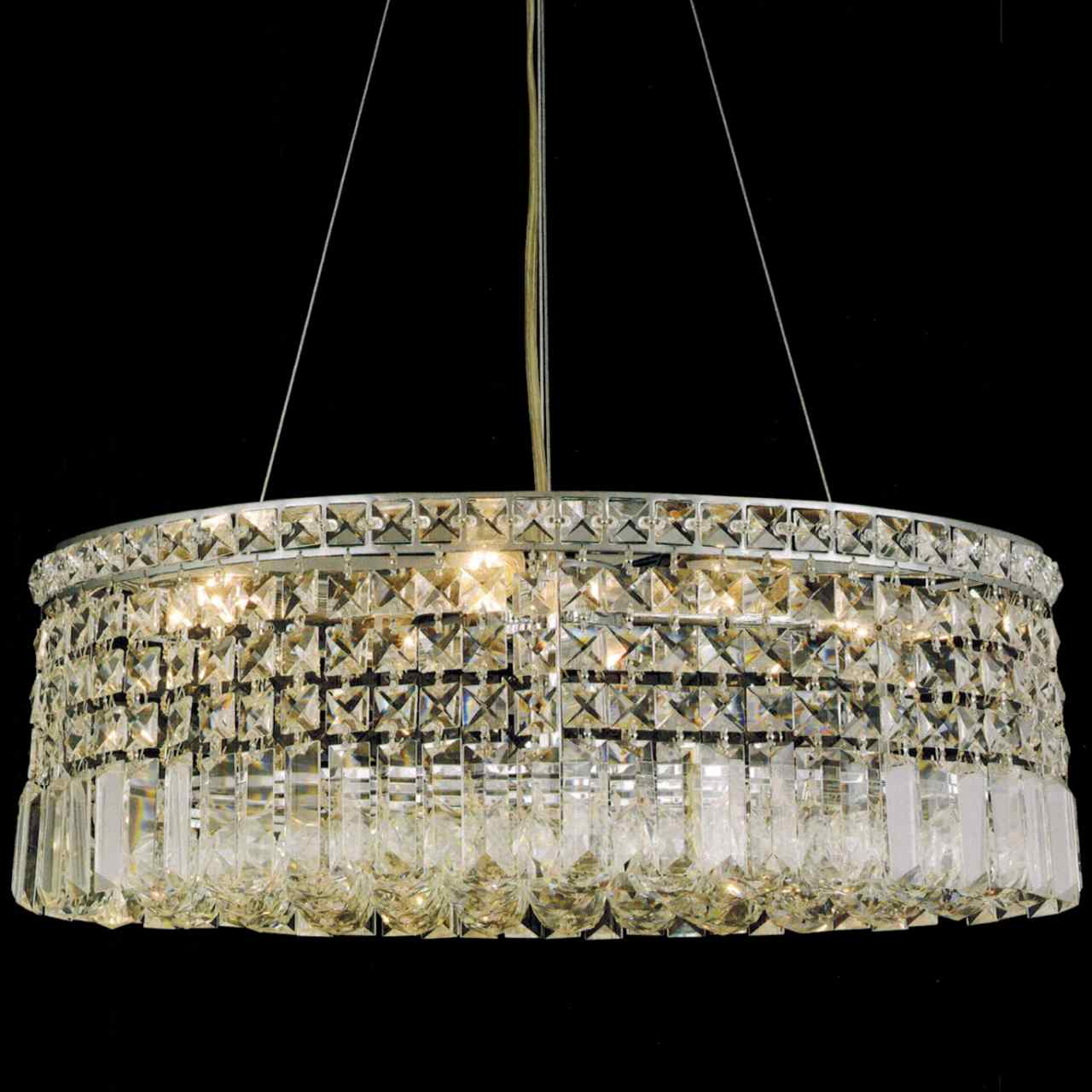 life crystal finish ceiling lamp pendant chandelier by light chrome translucent shade hanging diamond black