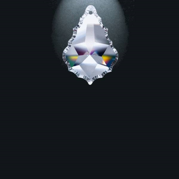 "Picture of 2"" Asfour Crystal Pendalogue 30% PbO 911-2"
