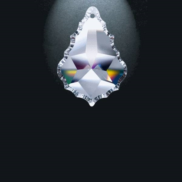 "Picture of 2.5"" Asfour Crystal Pendalogue 30% PbO 911-2.5"