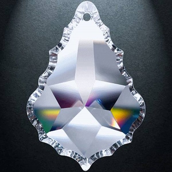 "Picture of 4"" Asfour Crystal Pendalogue 30% PbO 911-4"