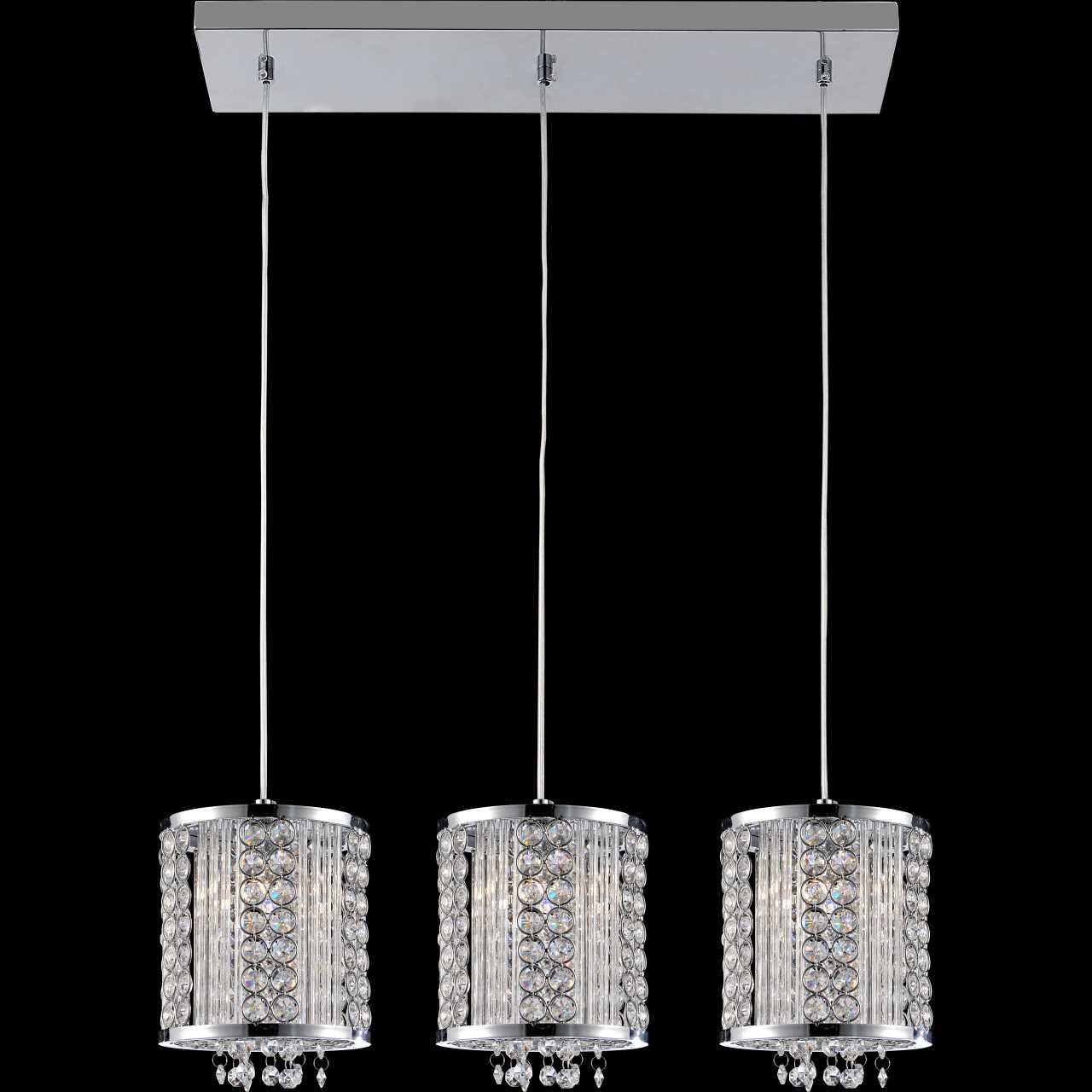 Brizzo lighting stores 28 cristallo modern crystal linear mini picture of 28 cristallo modern crystal linear mini pendants on rectangular platform polished chrome aloadofball Gallery