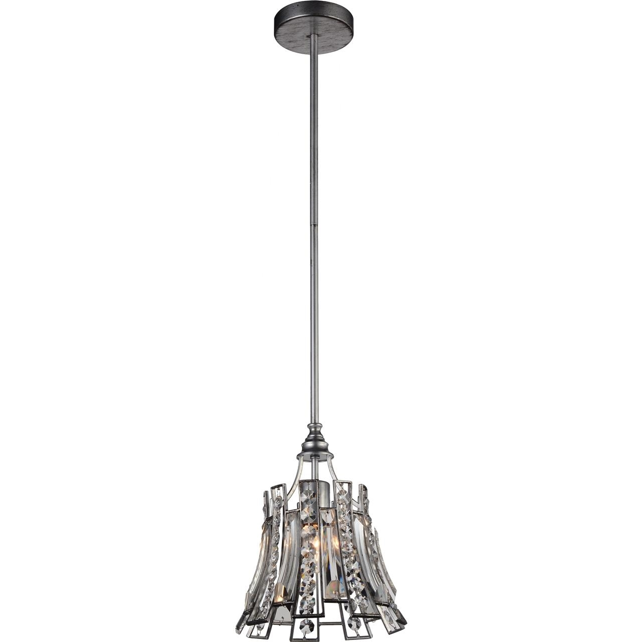 Brizzo lighting stores 11 nile modern crystal round mini pendant picture of 11 nile modern crystal round mini pendant antique forged silver 1 light aloadofball Gallery