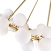 """Picture of 26"""" 25 Light  Chandelier with Satin Gold finish"""