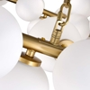 "Picture of 39"" 45 Light  Chandelier with Satin Gold finish"