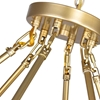 """Picture of 39"""" 45 Light  Chandelier with Satin Gold finish"""