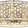 "Picture of 23"" 6 Light Chandelier with Champagne Finish"