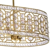 "Picture of 41"" 8 Light Chandelier with Champagne Finish"