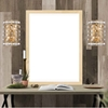 """Picture of 12"""" 2 Light Wall Sconce with Champagne Finish"""