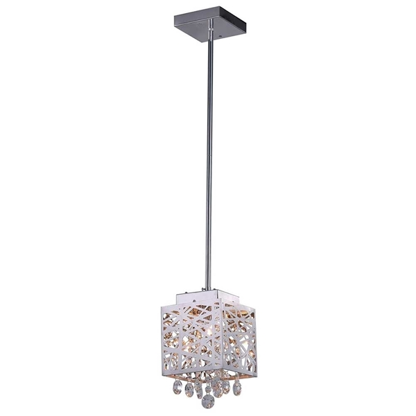 "Picture of 10"" 1 Light Pendant with Chrome Finish"