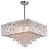 "Picture of 18"" 9 Light Chandelier with Chrome Finish"