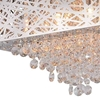 """Picture of 18"""" 9 Light Chandelier with Chrome Finish"""