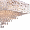 """Picture of 22"""" 12 Light Chandelier with Chrome Finish"""