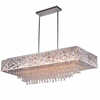"Picture of 39"" 14 Light Chandelier with Chrome Finish"