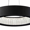 "Picture of 16"" LED Chandelier with Matte Black Finish"