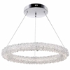 "Picture of 25"" LED Chandelier with Chrome Finish"