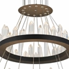 "Picture of 42"" LED Chandelier with Black Finish"