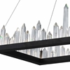 "Picture of 44"" LED Chandelier with Black Finish"
