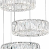 """Picture of 45"""" LED Chandelier with Chrome Finish"""