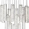"Picture of 34"" LED Chandelier with Chrome Finish"