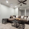 """Picture of 58"""" LED Chandelier with Chrome Finish"""