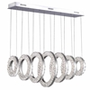 "Picture of 37"" LED Chandelier with Chrome Finish"