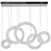 """Picture of 43"""" LED Chandelier with Chrome Finish"""