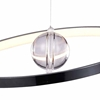 """Picture of 18"""" LED Chandelier with Chrome Finish"""