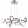 """Picture of 28"""" LED Chandelier with Chrome Finish"""