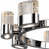 """Picture of 28"""" 8 Light Chandelier with Chrome Finish"""