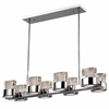 """Picture of 34"""" 8 Light Chandelier with Chrome Finish"""
