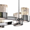 """Picture of 47"""" 10 Light Chandelier with Chrome Finish"""