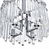 "Picture of 16"" 4 Light Chandelier with Chrome Finish"