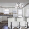 """Picture of 24"""" 6 Light Chandelier with Chrome Finish"""
