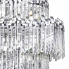 """Picture of 40"""" 15 Light Chandelier with Chrome Finish"""
