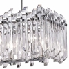 """Picture of 33"""" 8 Light Chandelier with Chrome Finish"""