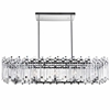 "Picture of 47"" 10 Light Chandelier with Chrome Finish"