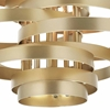 """Picture of 45"""" 16 Light Chandelier with Gold Leaf Finish"""