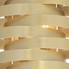"""Picture of 24"""" 6 Light Wall Sconce with Gold Leaf Finish"""