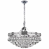 "Picture of 22"" 9 Light Chandelier with Chrome Finish"