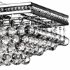 "Picture of 42"" 10 Light Chandelier with Chrome Finish"