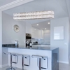"""Picture of 47"""" LED Chandelier with Chrome Finish"""